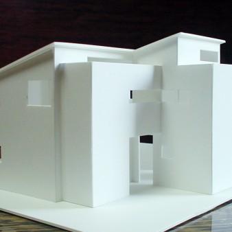 1:模型 基本設計時のスタディ模型