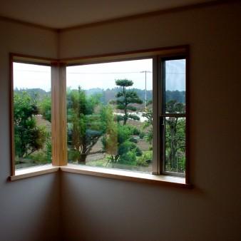 5:主寝室 主寝室から眺める風景